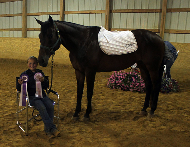Tiny Tot English High Point Grand Champion Lauren Hebbe