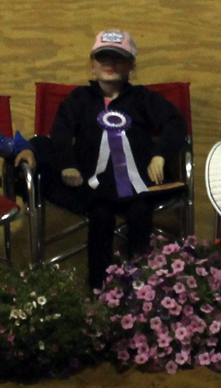Tiny Tot Western High Point Grand Champion Brianna Massie